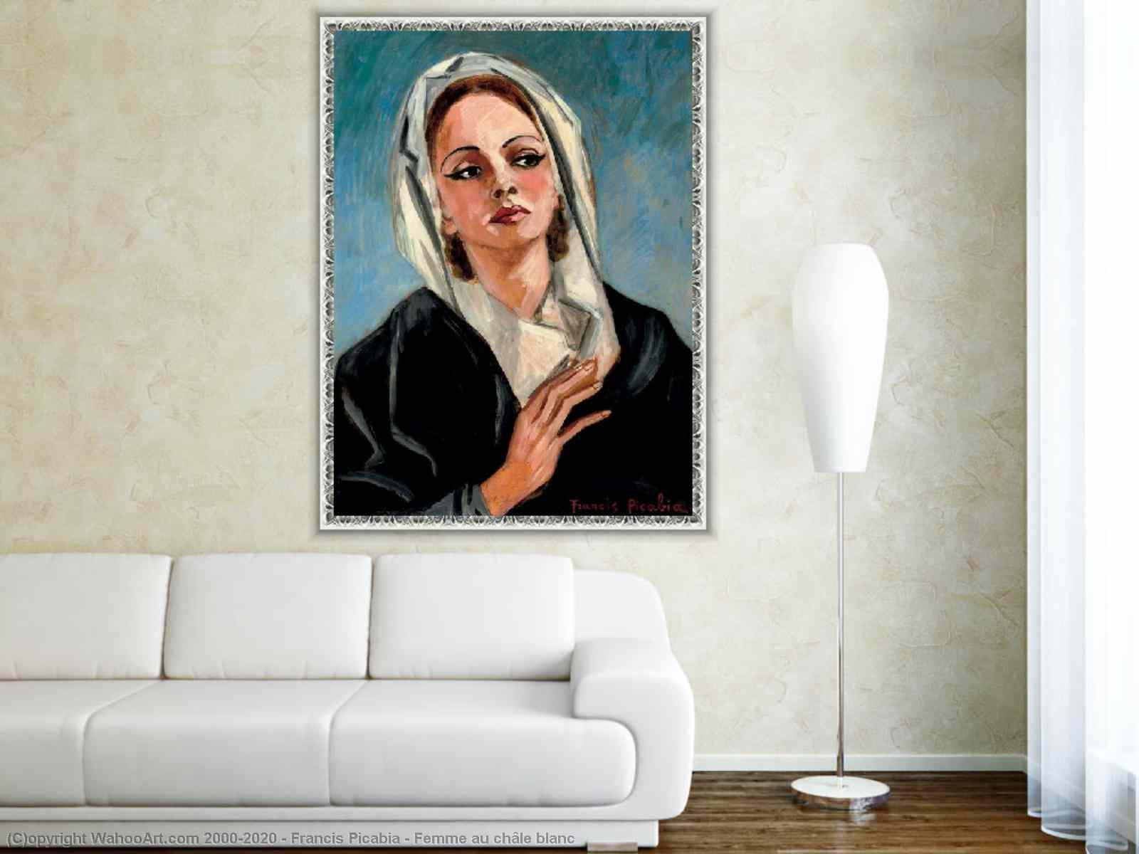 Francis Picabia - Au femme blanc châle